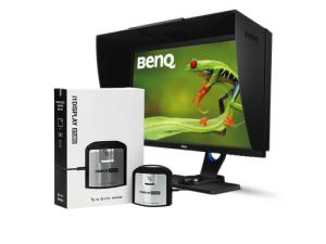Monitor BenQ SW2700PT com Calibrador de Monitores X-Rite i1 Display Studio + 2 Horas de Suporte