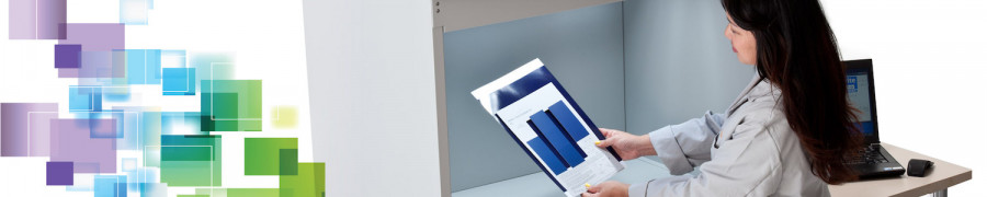 Lâmpada de LED D50 de acordo com a Norma NBR ISO 3664:2011