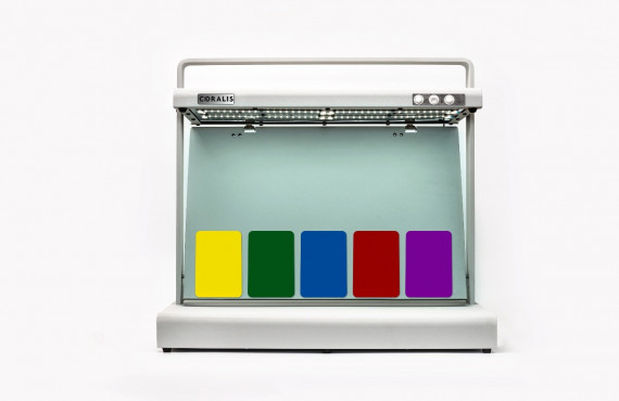 Cabine De Luz Coralis  LED Com 3 Iluminantes