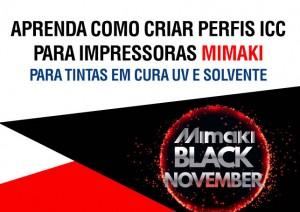 Gerenciamento de Cores para Impressão Digital com tintas em cura UV e Solvente - Mimaki Santa Catarina - SC
