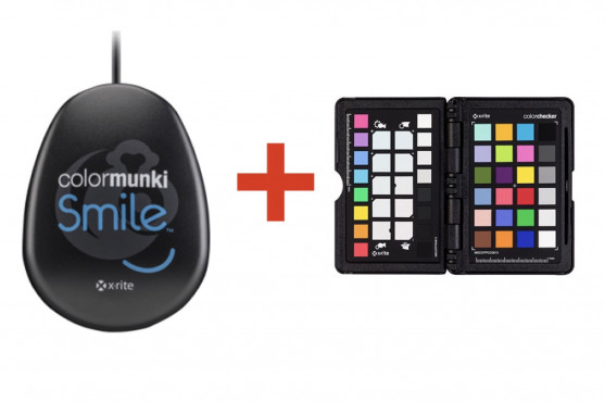 Kit Calibrador ColorMunki Smile + ColorChecker Passport Photo