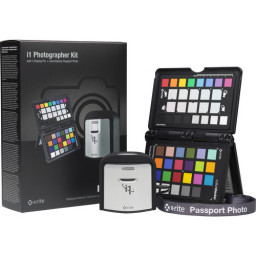 Kit Calibrador de cores I1 Display PRO e ColorChecker Passport da X-Rite