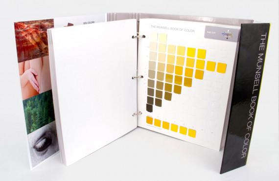 Livro de Cores Munsell - Edição Fosca