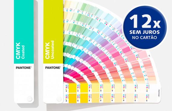 Escala Pantone CMYK Coated & Uncoated - Fabricação 2021