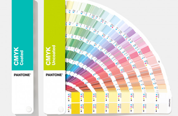 Escala Pantone CMYK Coated & Uncoated Edição 2020