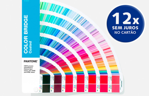 Escala Pantone Color Bridge Coated Edição 2020