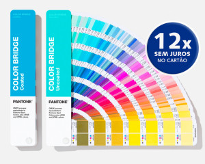 Escala Pantone Color Bridge Set Coated & Uncoated