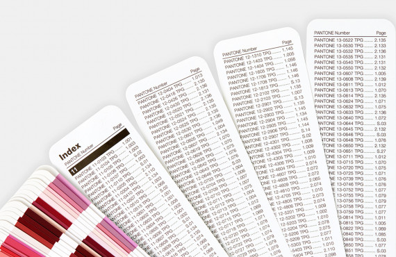 Escala Pantone Fashion, Home + Interiors Color Guide Edição 2020