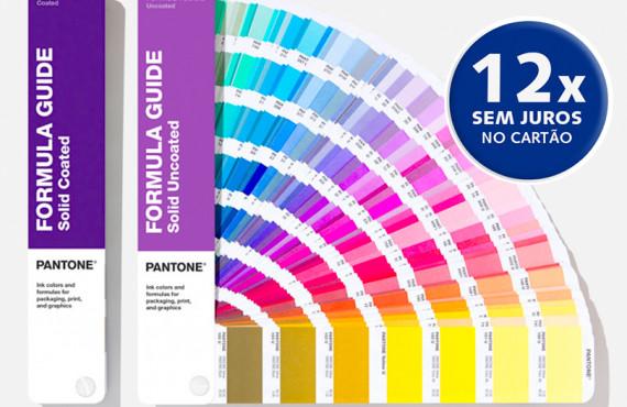 Escala Pantone Formula Guide - Coated & Uncoated Edição 2020