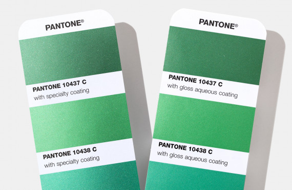 Escala Pantone 2020 Metallics Guide