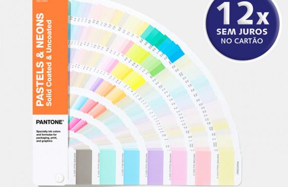 Escala Pantone Pastels & Neons Coated & Uncoated Edição 2020